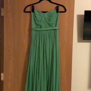David's Bridal bridesmaid dress - Size 0 - Clover